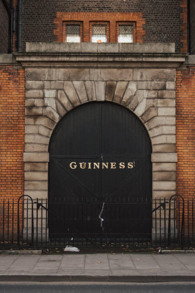 De Guinness Storehouse in Dublin