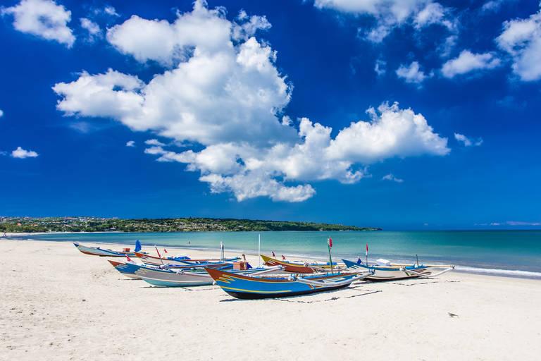 Strand bij Nusa Dua, Bali