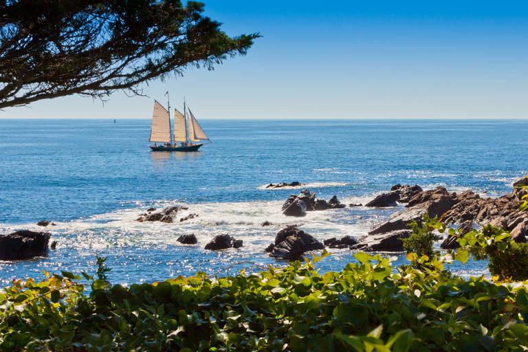Kust nabij Portland, Maine
