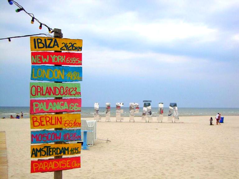 Strand van Liepaja