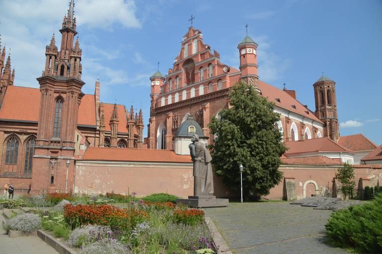 St. Anne Kerk in Vilnius