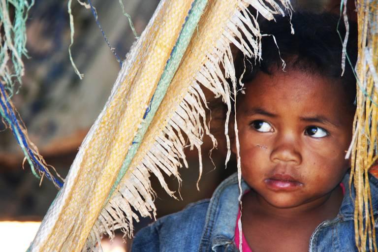 Kindje in Madagascar