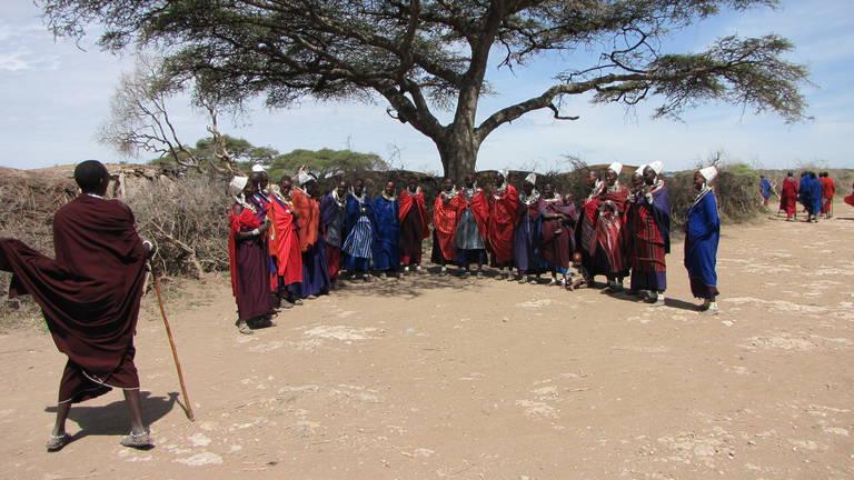 Masai bevolking, Tanzania