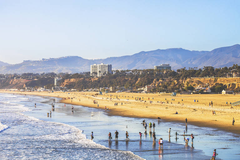 Strand bij Los Angeles