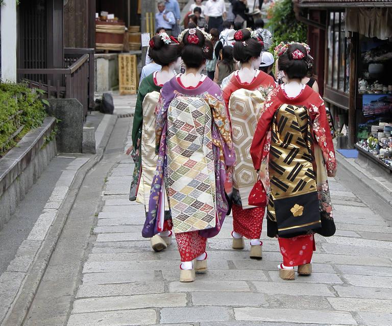 Maiko's in Kyoto