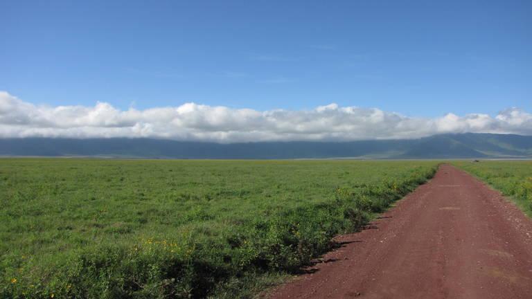 Onderweg in Ngorongoro Conservation Area