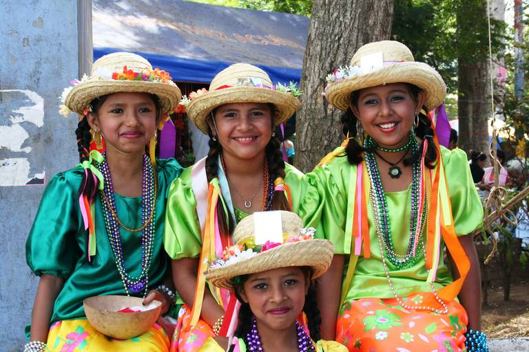Traditionele vrouwen in Nicaragua