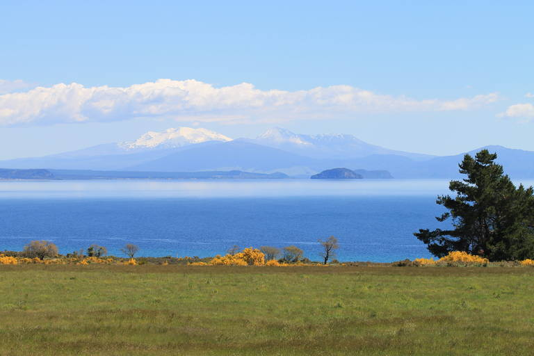 Uitzicht op Lake Taupo