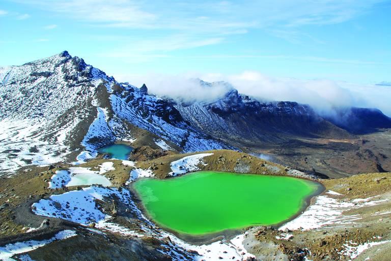 Emerald Lakes, Tongariro