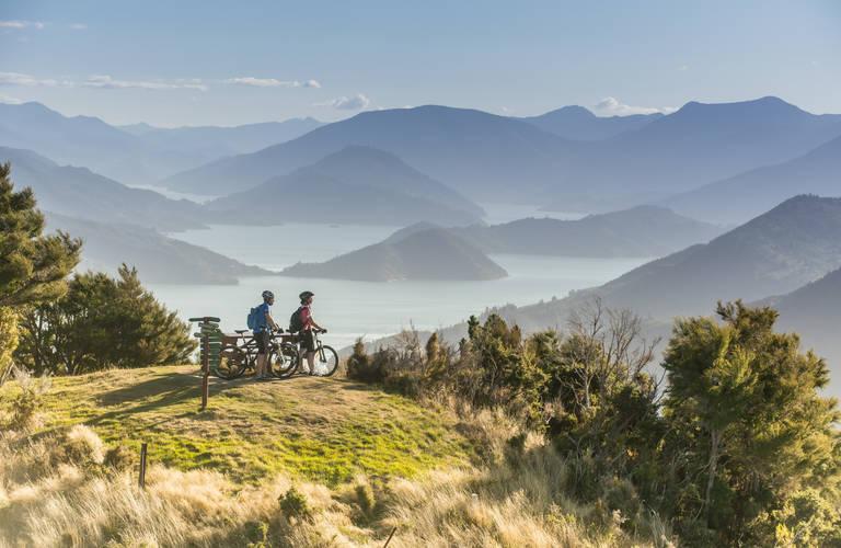 Mountainbiken, Marlborough Sounds