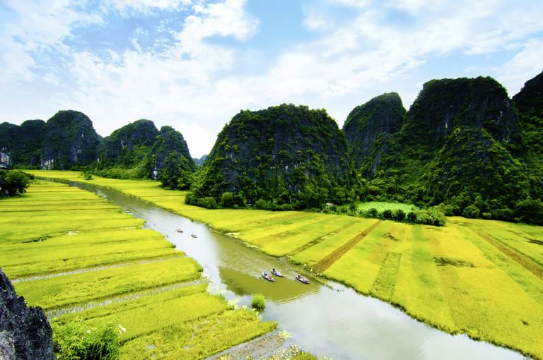 De Droge Baai van Halong Bay in Ninh Binh
