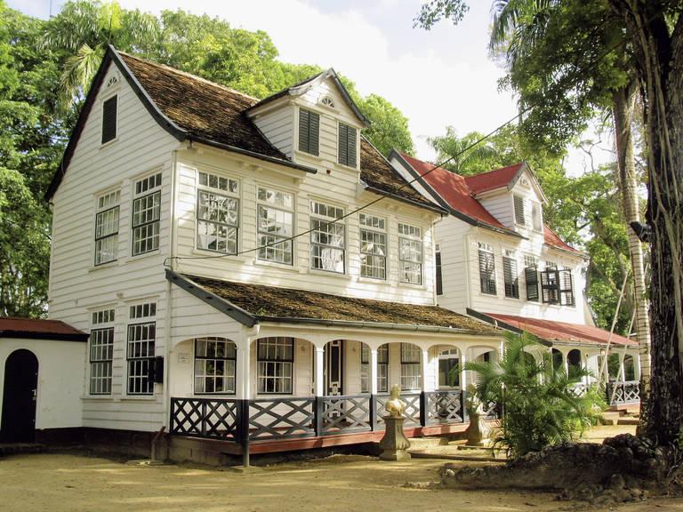 Historisch huis in Paramaribo