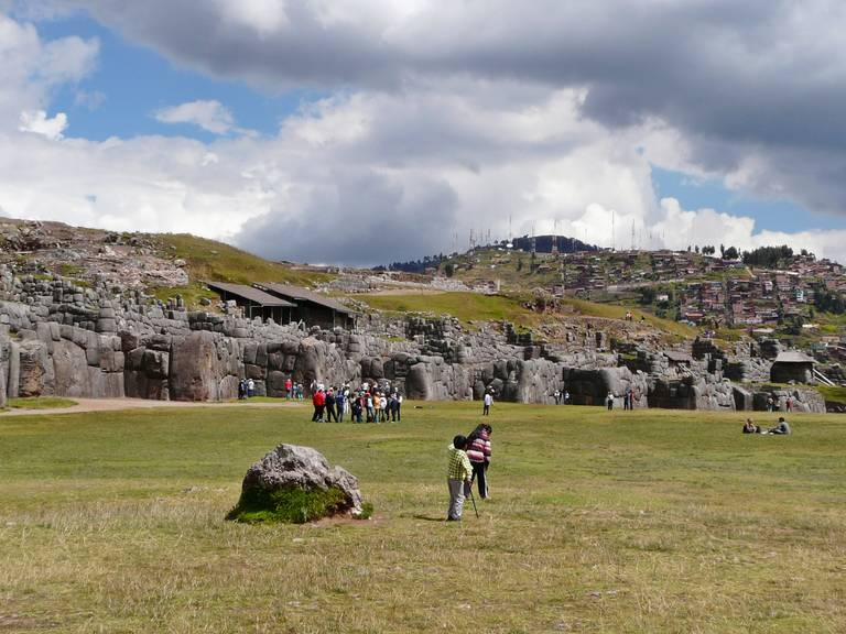 Archeologische locatie van Sacsayhuman