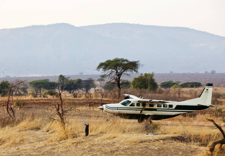 Airstrip in Ruaha National Park