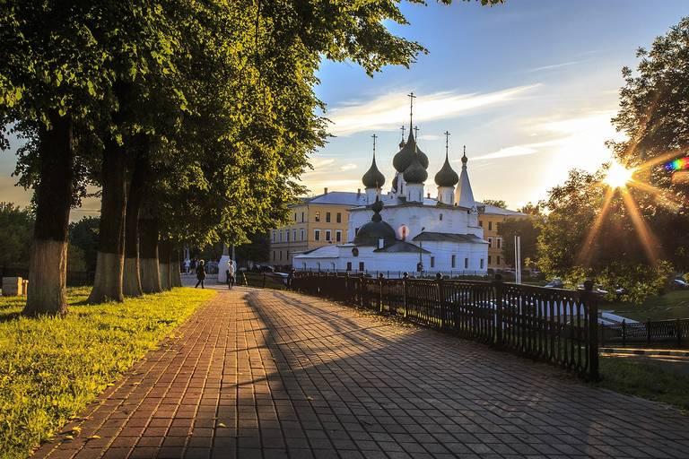 Kerk in Jaroslavl