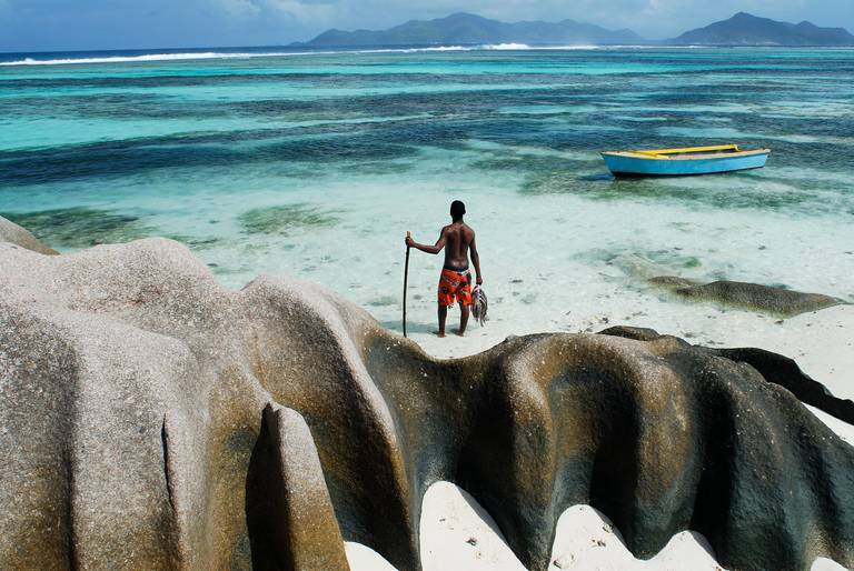 Lokale visser, Seychellen