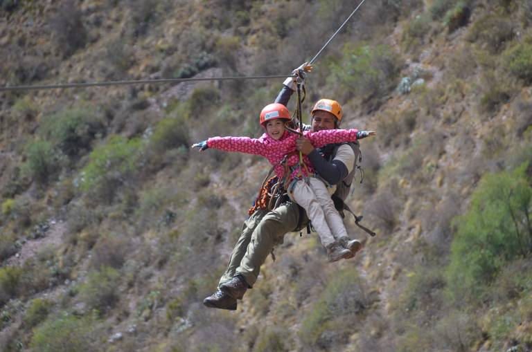 Ziplinen in Cuzco
