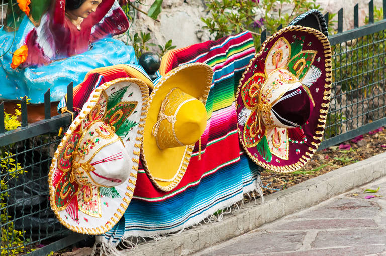 Mexicaanse sombrero's