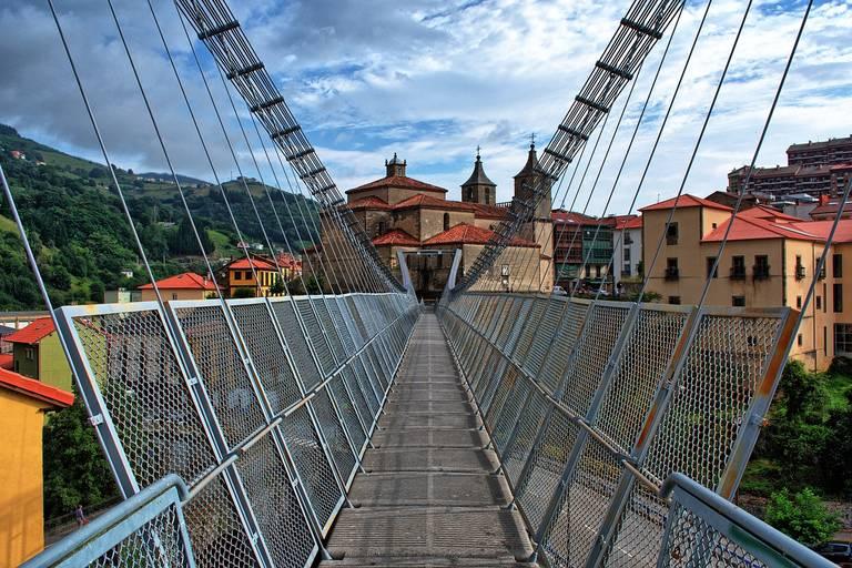 Brug bij Asturias, Picos de Europa
