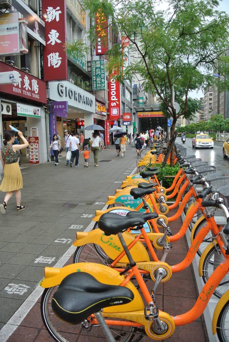 Straatbeeld Taipei