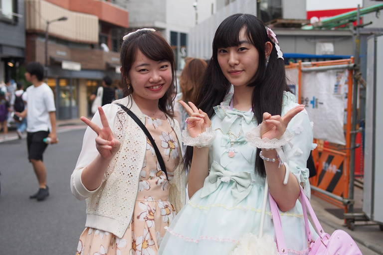 Lokale dames in Tokyo