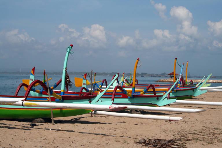 Strand in Sanur, Bali