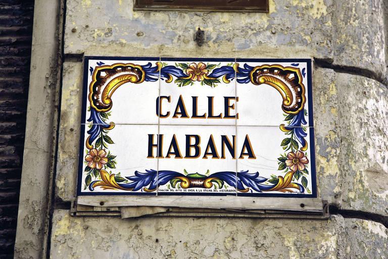 Calle Habana Bord