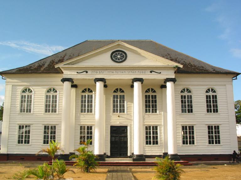Synagoge in de Keizerstraat, Paramaribo