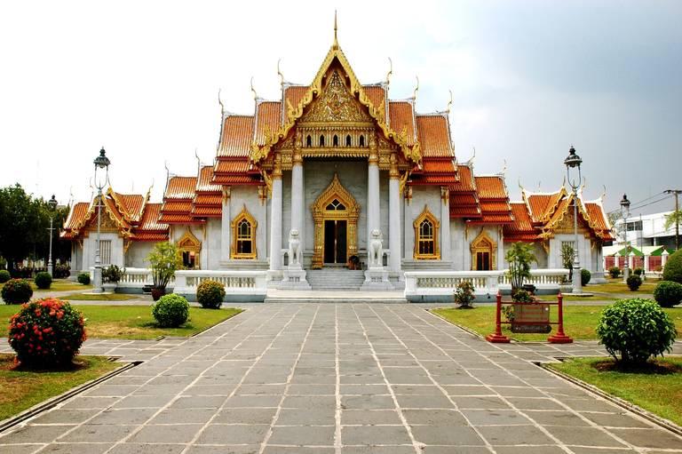 Wat Benjamaborphit Tempel, Bangkok