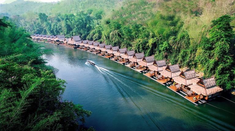 Floathouse, River Kwai
