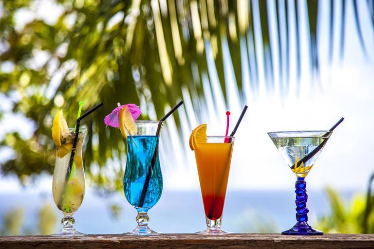 Tropische cocktails op de Seychellen