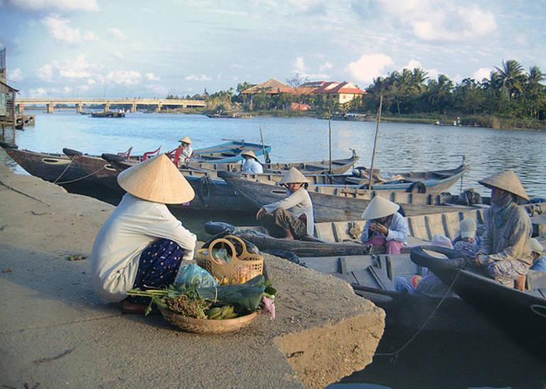Vissers bij Hoi An