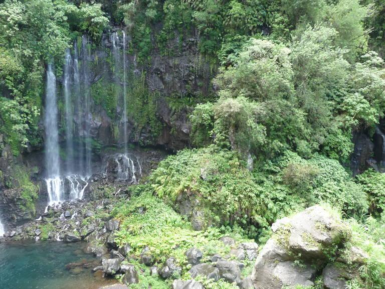 Waterval op La Réunion