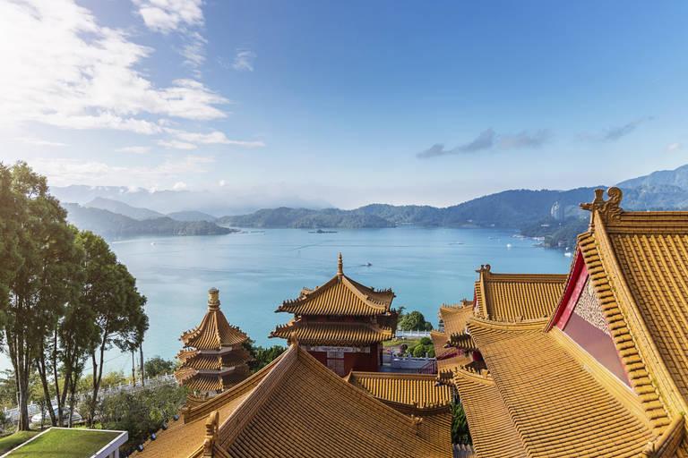 Wenwu Tempel bij Sun Moon Lake