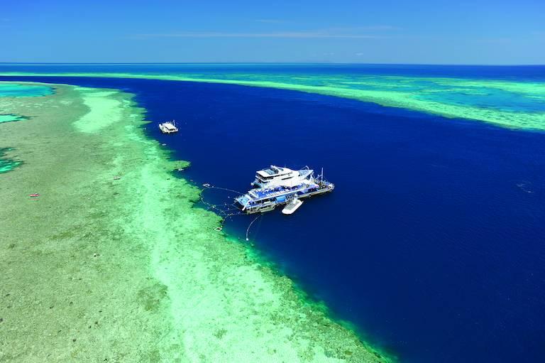Bootexcursie Great Barrier Reef