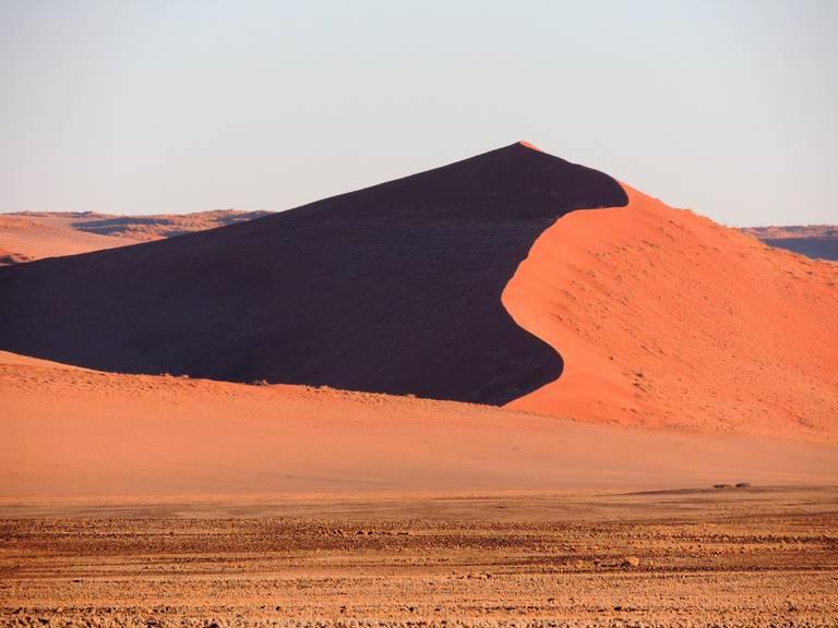 De zandduinen van Sossusvlei