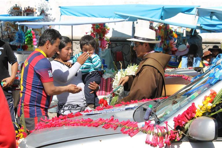 Zegening in Bolivia