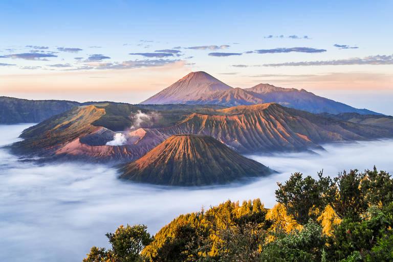 Zonsopgang Bromo-vulkaan, Java