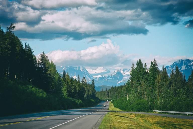 Weg naar Seward, Alaska