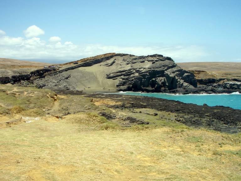 Landschap Big Island, Hawaii