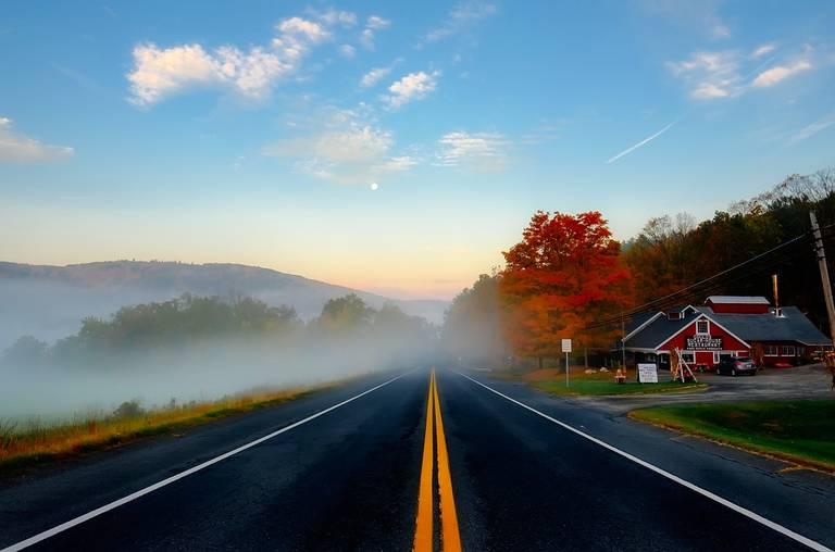 Herfst kleuren, Massachusetts