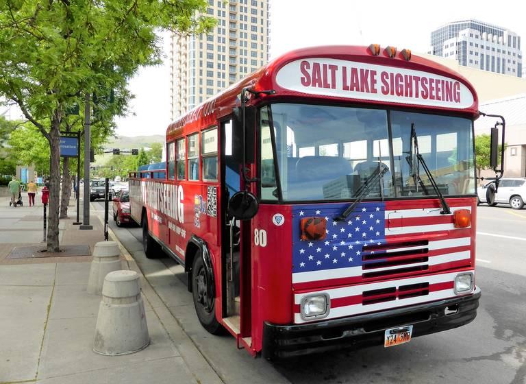Sightseeing in Salt Lake City