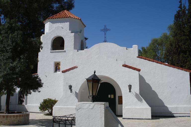 Witte kerk in Salta