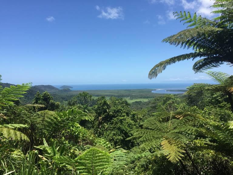 Uitzicht Port Douglas