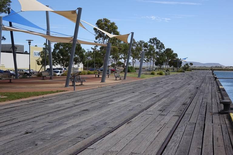 Pier in Port Augusta