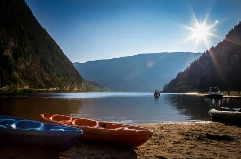 Three Valley Lake, Revelstoke