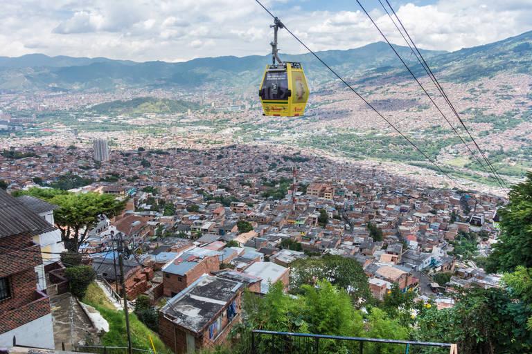 Kabelbaan in Medellín