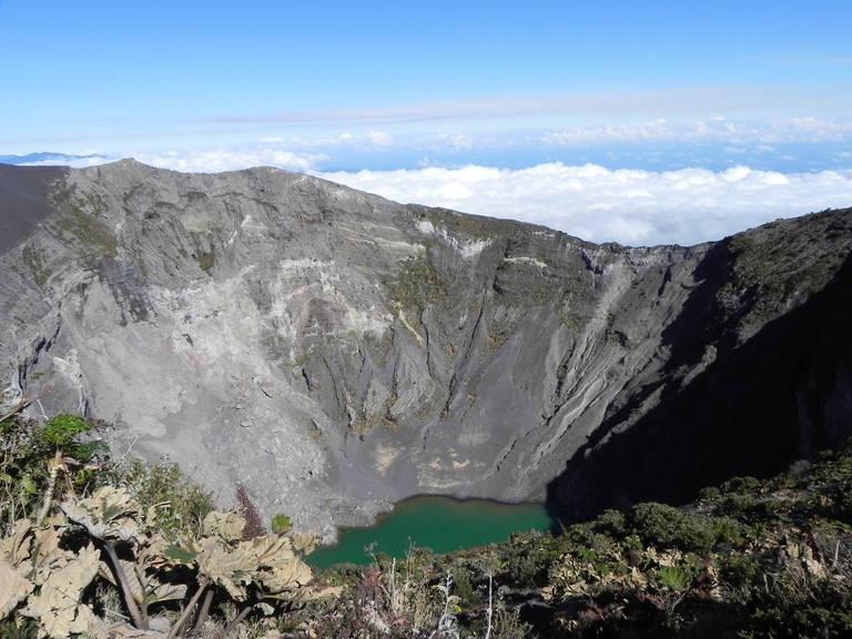 Irazu vulkaan nabij San José
