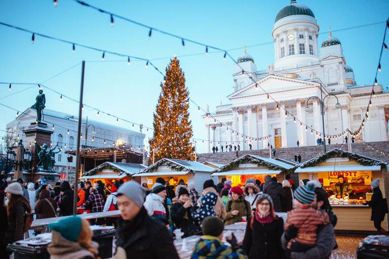 Kerstmarkt Helsinki