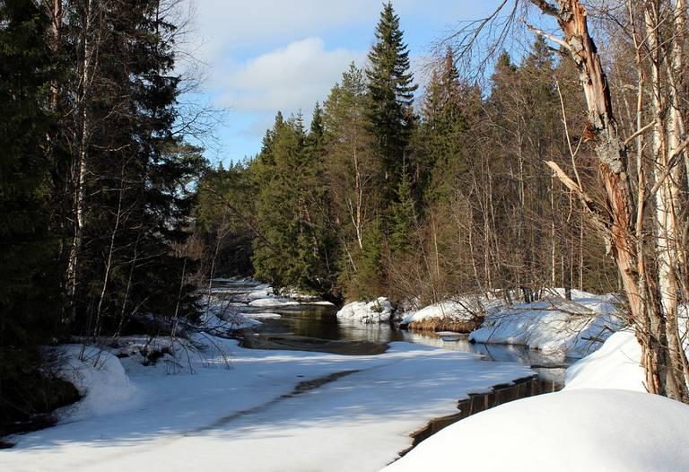 Rivier, Fins Lapland